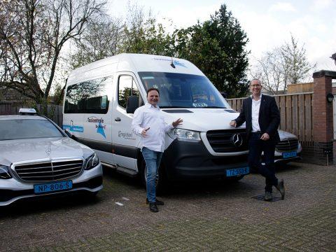 Samenwerking Yeshugo en Taxicentrale de Meijerij